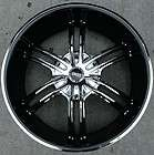 STATUS QUO 22 CHROME RIMS WHEELS LINCOLN LS V6 V8 RWD