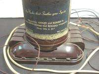 Tone RADIO Model 504 Lord Calvert Whiskey Bottle Bakelite NR