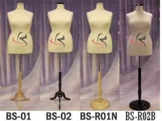 Mannequin Manequin Manikin Dress Form #F18/20W+BS 04