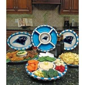 Carolina Panthers Memory Company Team Ceramic Plate NFL Football