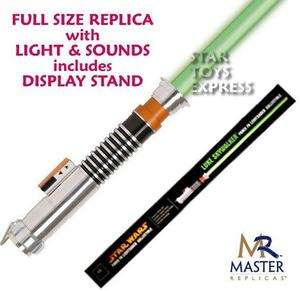 NEW Star Wars Luke Skywalker Jedi Force FX Lightsaber Master Replicas