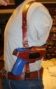 LEATHER SHOULDER HOLSTER RIG 4 RUGER SR9