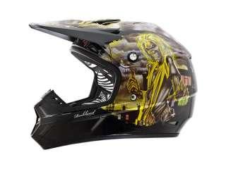 Rockhard Iron Maiden Dirt Helmet Medium