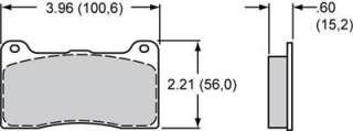 Wilwood 7816 High Performance Street / Strip Brake Pads 150 8946K IN