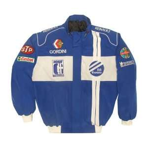 Renault Gordini Blue Racing Jacket: Sports & Outdoors