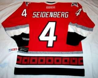 DENNIS SEIDENBERG size MEDIUM Carolina Hurricanes CCM 550 Hockey