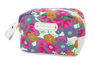 NEW SANRIO HELLO KITTY COSMETIC POUCH BAG tropical NEW 2012