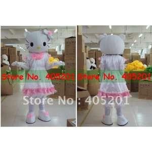 white dress hello kitty mascot costume kitty costumes Toys & Games