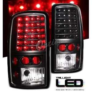GMC Yukon Denali SUV 00 06 Black Altezza LED Tail Light