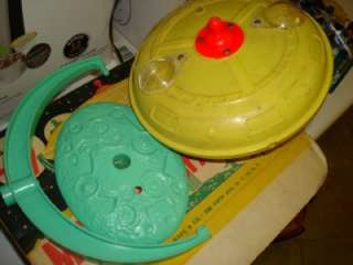 60S MARX MYSTERY SPACE SHIP PLAYSET TONS OF ACCESSORIES EXIB RARE