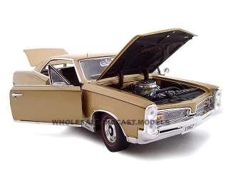 model car of 1967 Pontiac GTO HT die cast car by Unique Replicas