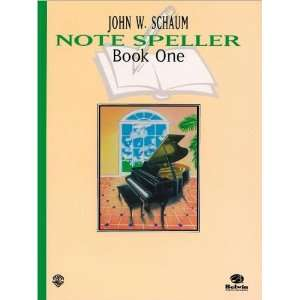 Schaum Note Spellers Book 1 (text only) Revised edition by