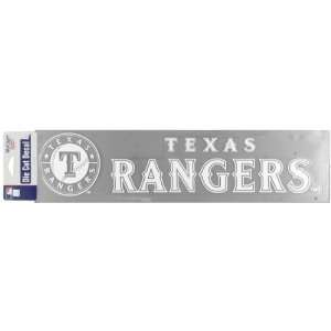 Texas Rangers   Logo Cut Out Decal Automotive