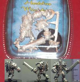 Steampunk Warrior (1) 28mm Miniature Fighter w/ Sword Knight