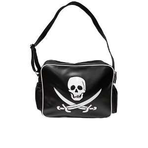 Sourpuss Die Cut Pirate Skull Sword Diaper Tote Bag: Baby