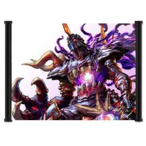 Soul Calibur IV 4 Game Nightmare Fabric Wall Scroll Poster