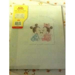 com Disneys Babies Mickey & Minnie Mouse Babys Memories Book Baby