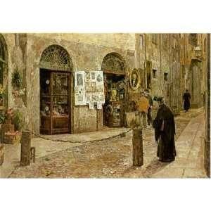 Milan Vicolo San Bernardino Dei Morti    Print: Home