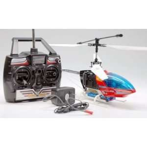 The Shuttle Ready to Fly Remote Control Helicopter (Red) Toys & Games