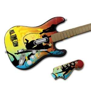 Band Wireless Guitar  All Time Low  So Wrong, It s Right Skin