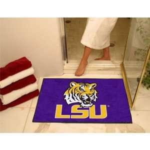 BSS   Louisiana State Fightin Tigers NCAA All Star Floor Mat (34x45