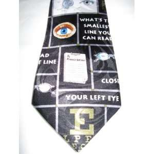 Optometrist Necktie Eye Doctor Tie Everything Else