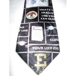 Optometrist Necktie Eye Doctor Tie