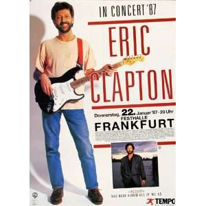 Eric Clapton   Crossroads 1987   CONCERT   POSTER from