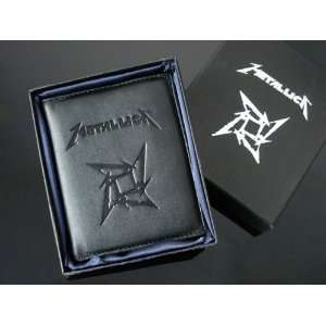 METALLICA BILFOLD BRAND NEW High quality artificial leather GIFT