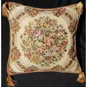 Aubusson Style Decorative Cushion/Pillow Cover 01A