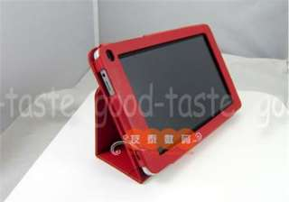 Folio Stand & Arm Band Leather Case Pouch For HuaWei Mediapad 7