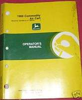 John Deere 1900 Commodity Air Cart Operators Manual