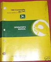 John Deere 1900 Commodity Air Cart Operators Manual
