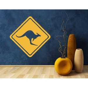 Kangaroo Sign   Vinyl Wall Decal