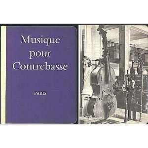 Musica per Contrabbasso/Musica para Contrabajo Alphonse Leduc Books