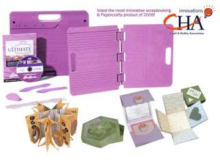 Ultimate Crafters Companion Make Envelopes, Boxes +++