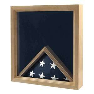 Navy Flag and Medal Display Case Navy Shadow Box: Home & Kitchen