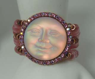 Kirks Folly Seaview Moon Magic Stretch Bracelet PINK