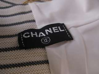 Auth CHANEL CC Logo Strip Head Hair Band Cube Bag 3 pcs