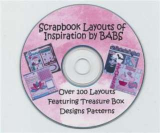 Premade Scrapbook Layout Ideas CD by BABS