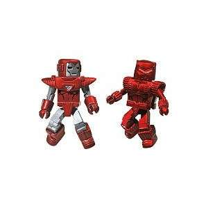 Marvel Minimates Collectible Action Figure 2 Pack   Silver