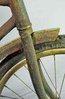 Vintage 1930s Schwinn Boys Camelback Bicycle 20 wooden rim bike