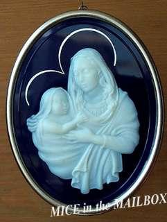 MOTHER and CHILD~1983~Hallmark Ornament~Mary/Jesus/Madonna~No Box