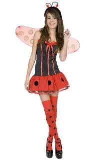 PRE TEEN GIRLS LADY BUG CUTE LADYBUG HALLOWEEN COSTUME