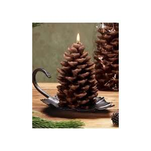 Pine Cone Rustic Candle, Small (Set of 6)