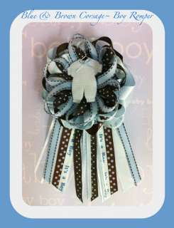 ADORABLE BABY BOY CORSAGE FOR