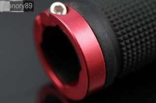 2012 Cycling LOCK ON Bicycle BIKE HANDLEBAR BAR GRIPS NEW red