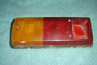 Renault R 12 Rear & Gordini Tail Light Lens Dacia 1300