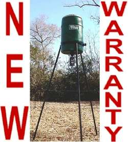 NEW ELITE WILDLIFE/DEER FEEDER,200 LB. TRIPOD,OT2