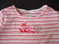 Gymboree girl VALENTINES DAY Daddy shirt top 4 4T